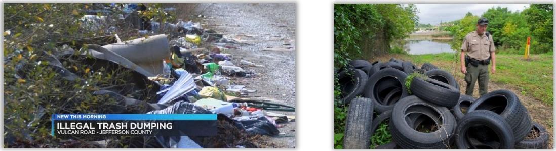 Illegal dumping, revenue generation and enforcement
