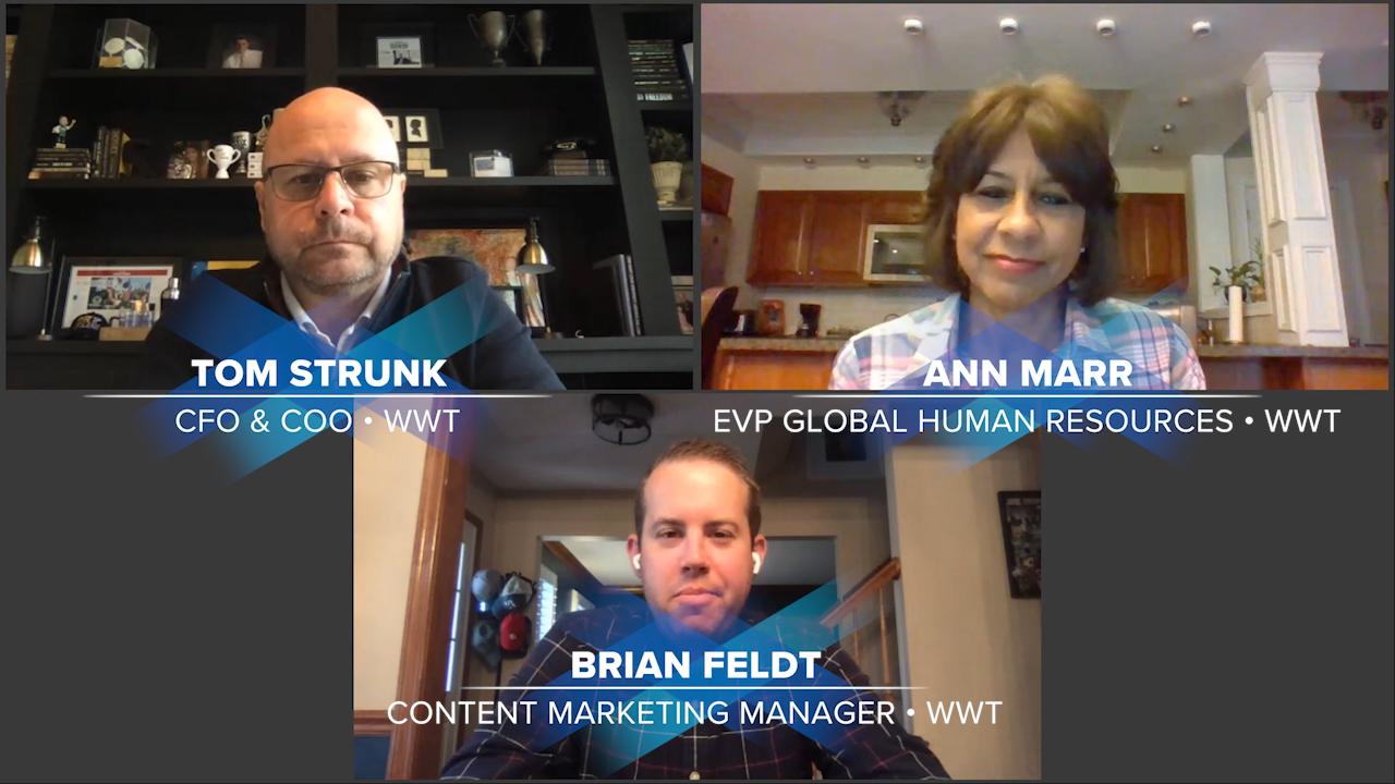 Business Continuity Talks speakers - Tom Strunk, Ann Marr, and Brian Feldt