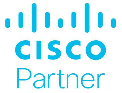 Logo for Cisco Gold Partner