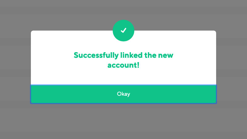 Successful repository connection