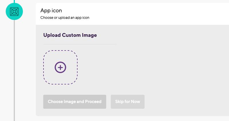 Select app icon