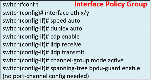 VPC IPG mapping to traditional switch port